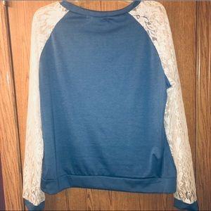 Zanzea Tops - NWT lace long sleeve cotton shirt adorable soft